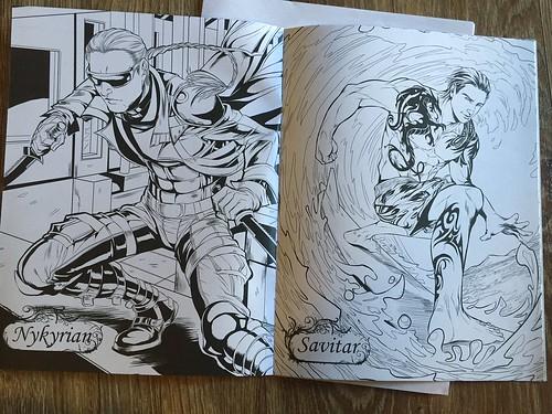Spotlight Dark Hunters Coloring Books Scifichick Com