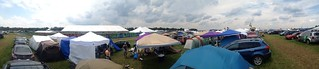Bonnaroo 2013 - Another panoramic from campsite (These are our tents in middle/left foreground) | by netgeek