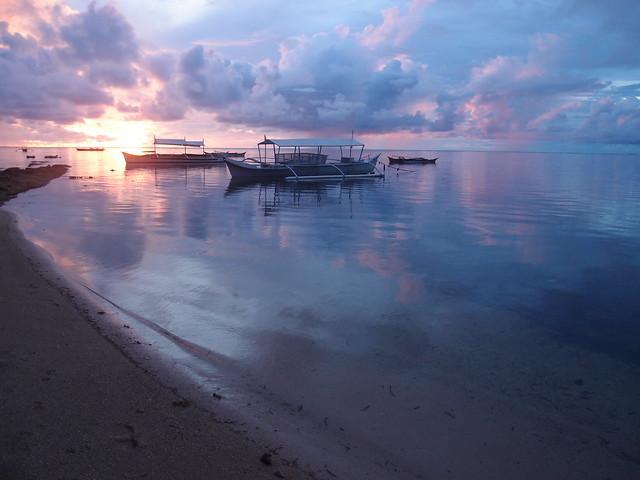 Sunrise in Siargao