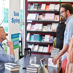 Patrick Ness book signing | Patrick Ness signs books for some of his fans