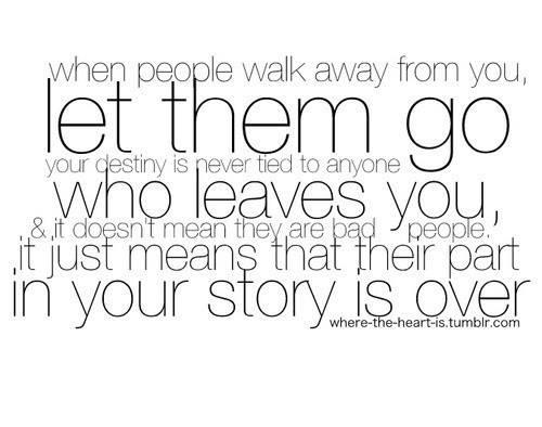 When people walk away Facebook: http://on.fb.me/Y86UBd Goo ...