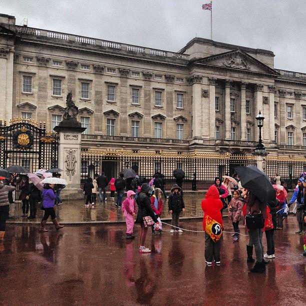 No Queen sighting. #london