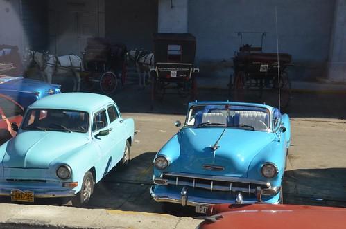 Classic Cuban Cars in Havana, Cuba   by Corvair Owner