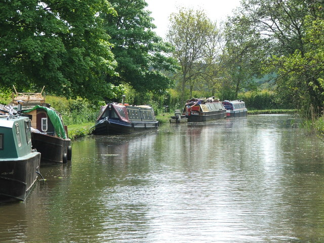 Grand-Union-Canal-near-Nether-Heyford-by-Maurice-Pullin