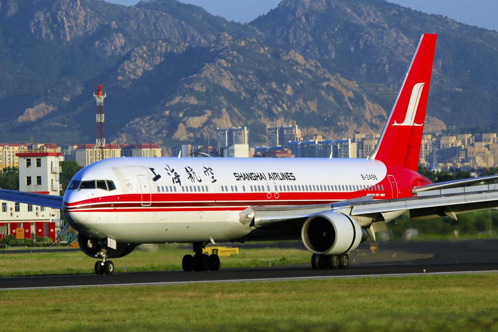 B-2498 - Shanghai Airlines - Boeing 767-36D - TAO