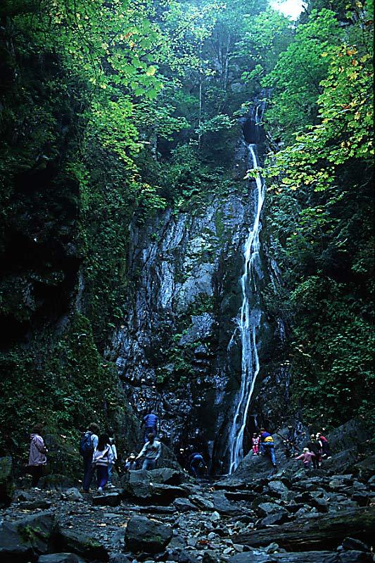 Niagara Falls, Goldstream Provincial Park, Langford, Victoria, Vancouver Island, British Columbia, Canada