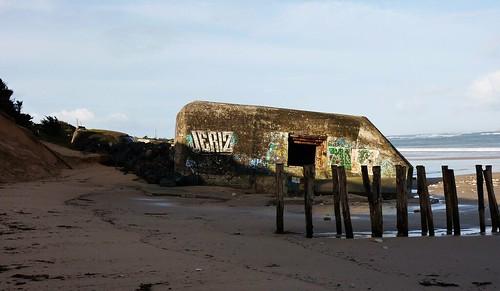 Conche des Baleines, Ile de Ré, blockhaus