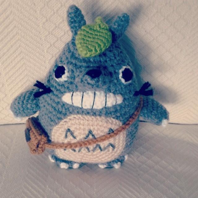 Totoro Amigurumi Crochet Pattern - Free - Ami Amour | 640x640