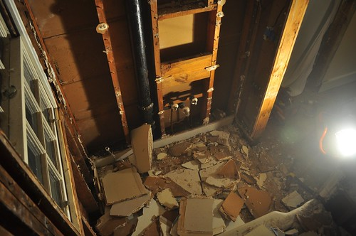 2012-02-04 Bathroom demolition 29 | by ericdodds