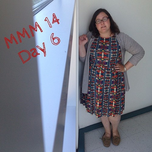 #mmmay14 #memademay day 6! Wearing my new #colettepatterns #moneta ! So excited, love this dress! Excuse the awkward angle selfie. | by thegreenviolet