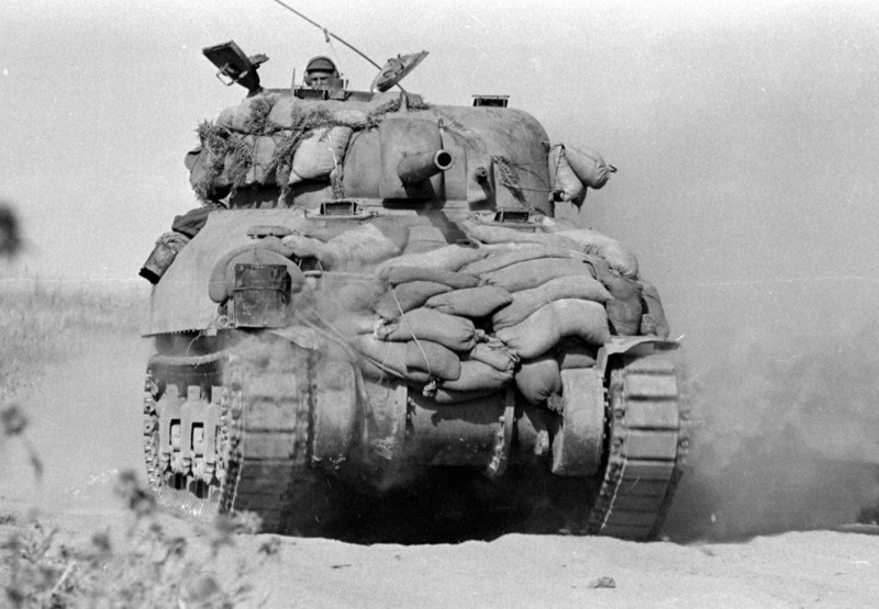 "Extension of medium tanks M-4 ""Sherman"""