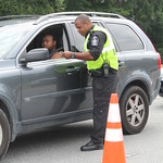 August 27, 2015 - 11:05 - Camden County Hands Across The Border Checkpoint Credit: Tiffany Mentzer, Camden County Sheriff's Office