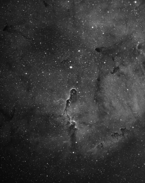 IC1396 (elephants trunk nebula) in Ha