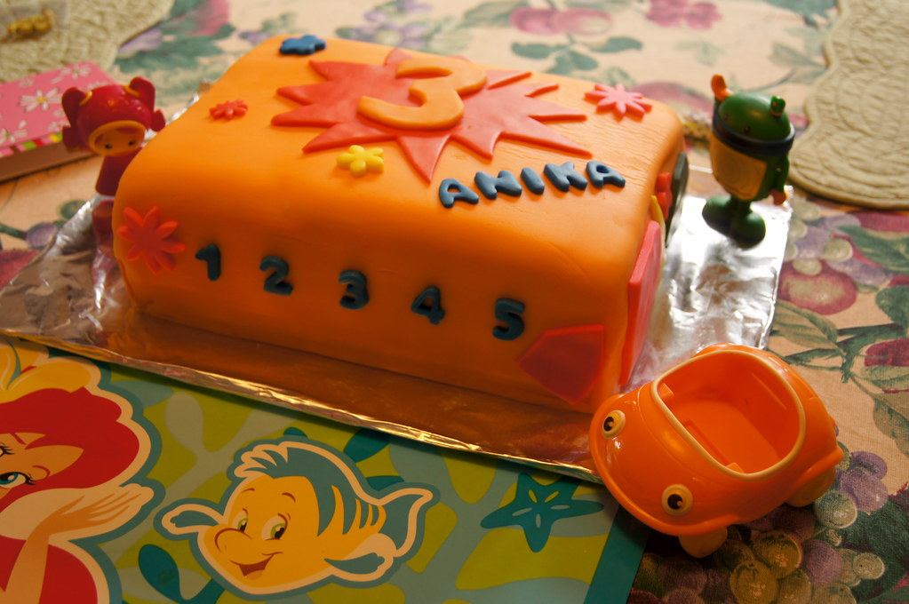 Pleasant 3Rd Birthday Cake A Team Umizoomi Inspired Cake Wrightbrosfan Personalised Birthday Cards Paralily Jamesorg