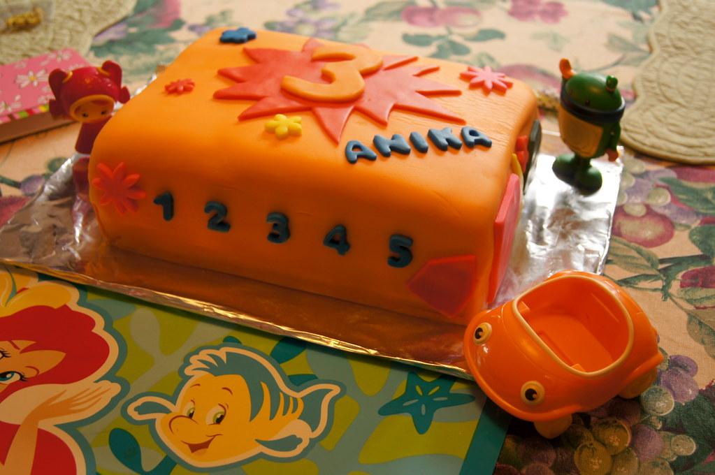 Amazing 3Rd Birthday Cake A Team Umizoomi Inspired Cake Wrightbrosfan Personalised Birthday Cards Arneslily Jamesorg