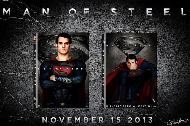Man of Steel - DVD Artwork