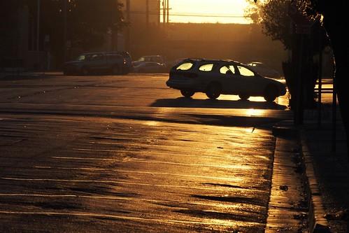 america sunrise dawn downtown norcal marysville smalltown 4thst yubacounty