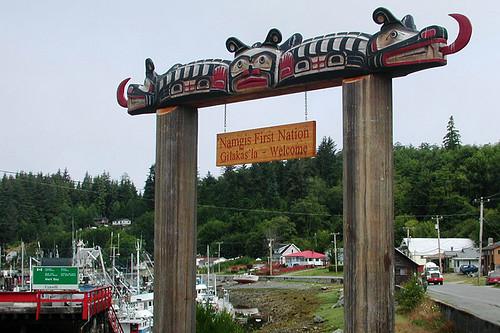 Alert Bay, Cormorant Island, Queen Charlotte Strait, British Columbia, Canada