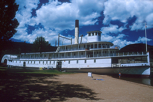 Sternwheeler SS Sicamous in Penticton, Okanagan Valley, British Columbia, Canada