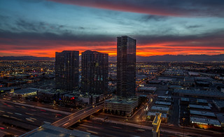 Vdara View of Sunset | by todmac