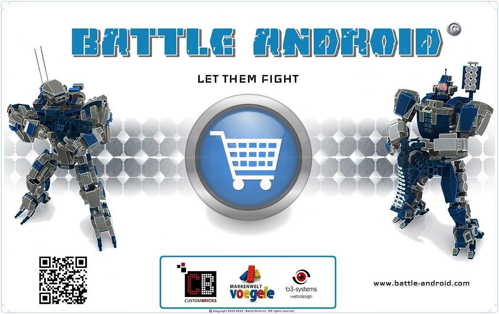BATTLE ANDROID - ONLINE SHOP