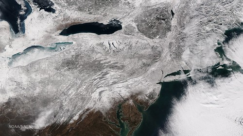 Blizzard Blankets the Northeast With Snow | by NASA Goddard Photo and Video