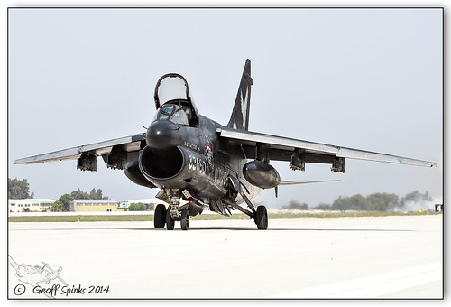 HAF A-7 Retirement, Spotters Day, Araxos B_485 | by Geoff Spinks Photography