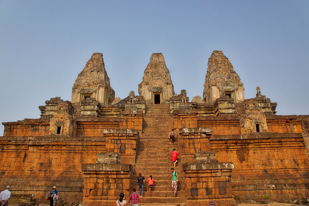 Pre Rup temple in the morning near Siem Reap, Cambodia