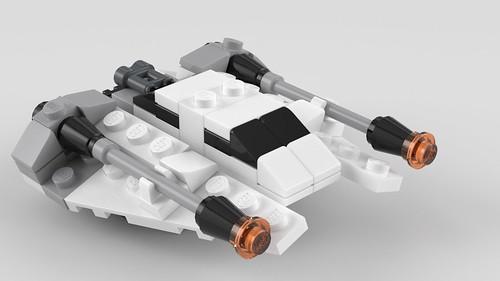 8029 Mini Snowspeeder | by SafePit