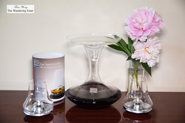 Peugeot Saveurs Whisky Tasting Glasses and Aromium Decanter