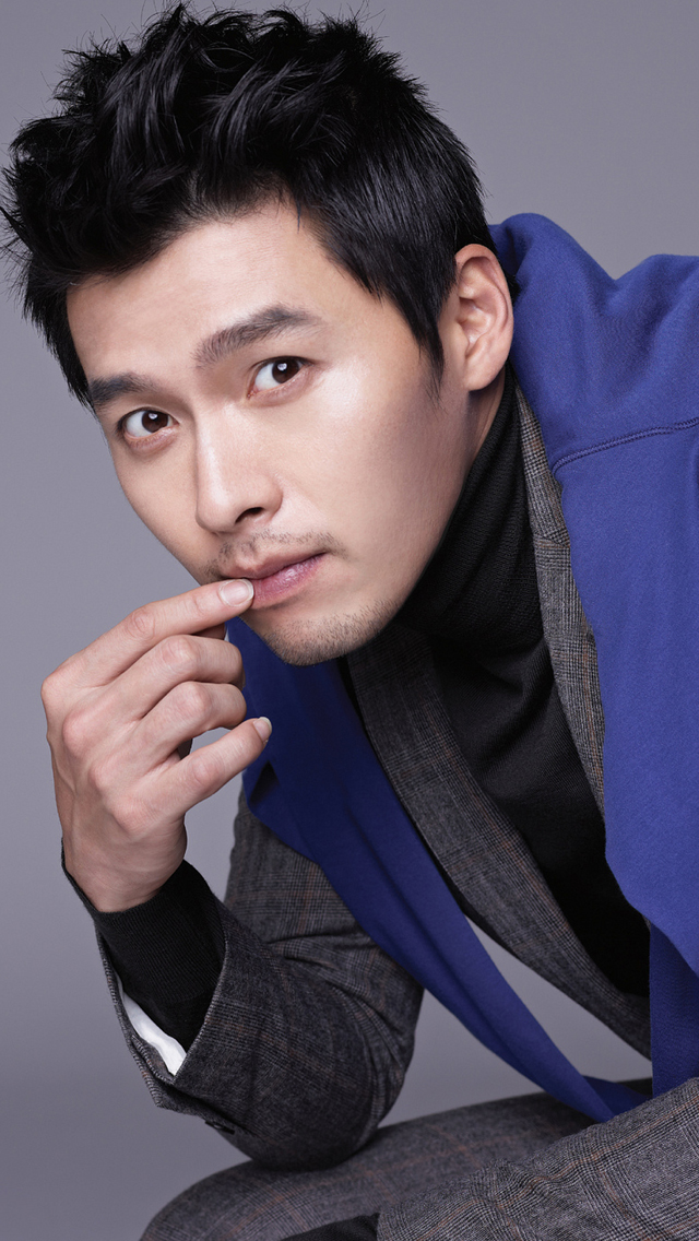 Hyun Bin - iPhone 5 Wallpapers