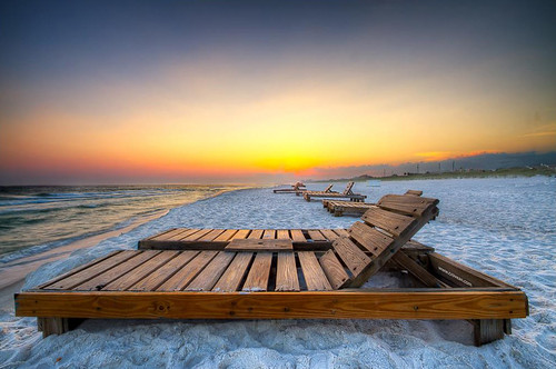 summer beach water photoshop bench gulf florida whitesands panama hdr photomatix sohdr