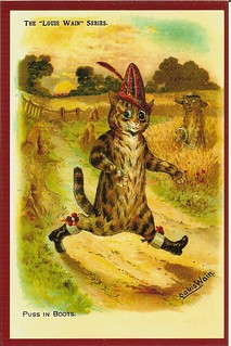 Puss in Boots by Louis Wain, 1905