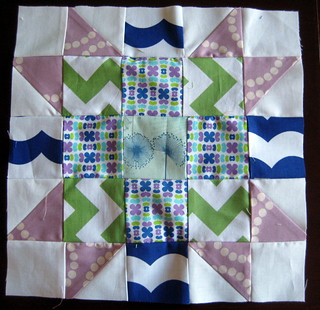Sisters' Ten BOM - September block | by quiltyhabit