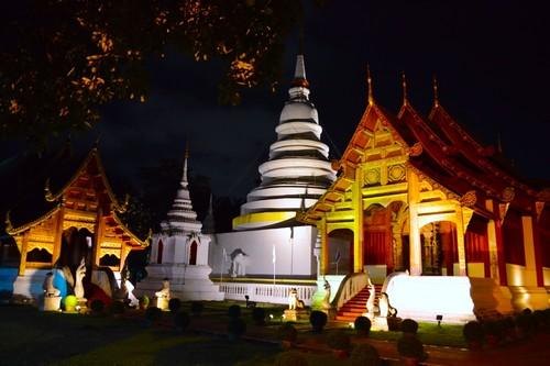 building architecture buildings landscape thailand temple landscapes nikon shrine nightshot temples chiangmai shrines d3200