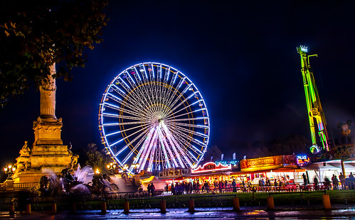 Fête foraine Place Quinconces | by clemmat