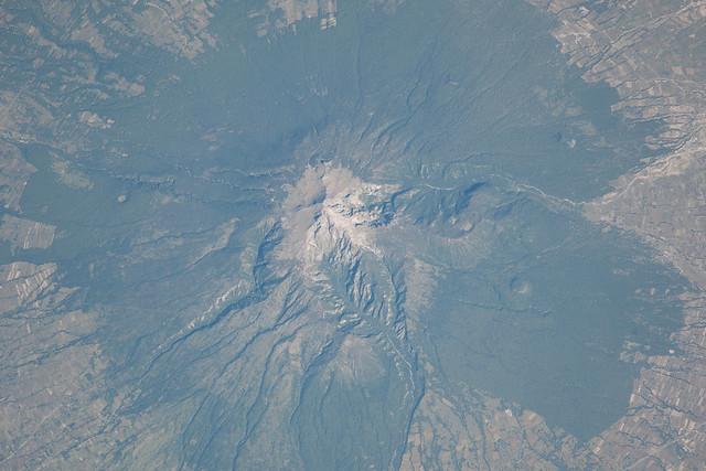 Malinche Volcano, Mexico (NASA, International Space Station, 10/29/13)