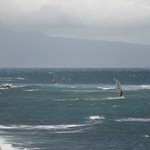 Wind surfing Maui