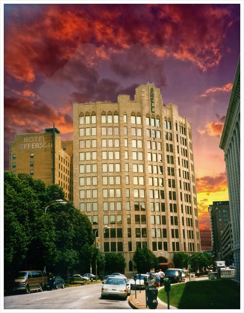 Shell Building ~ Springfield Mo  ~  Hotel Jefferson ~ My Old Film