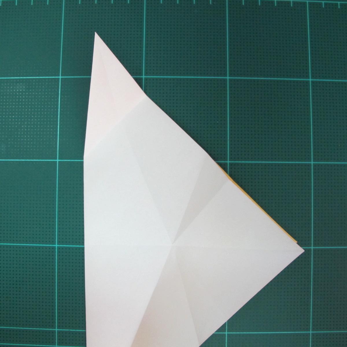 วิธีการพับกระดาษรูปม้าน้ำ (Origami Seahorse) 011