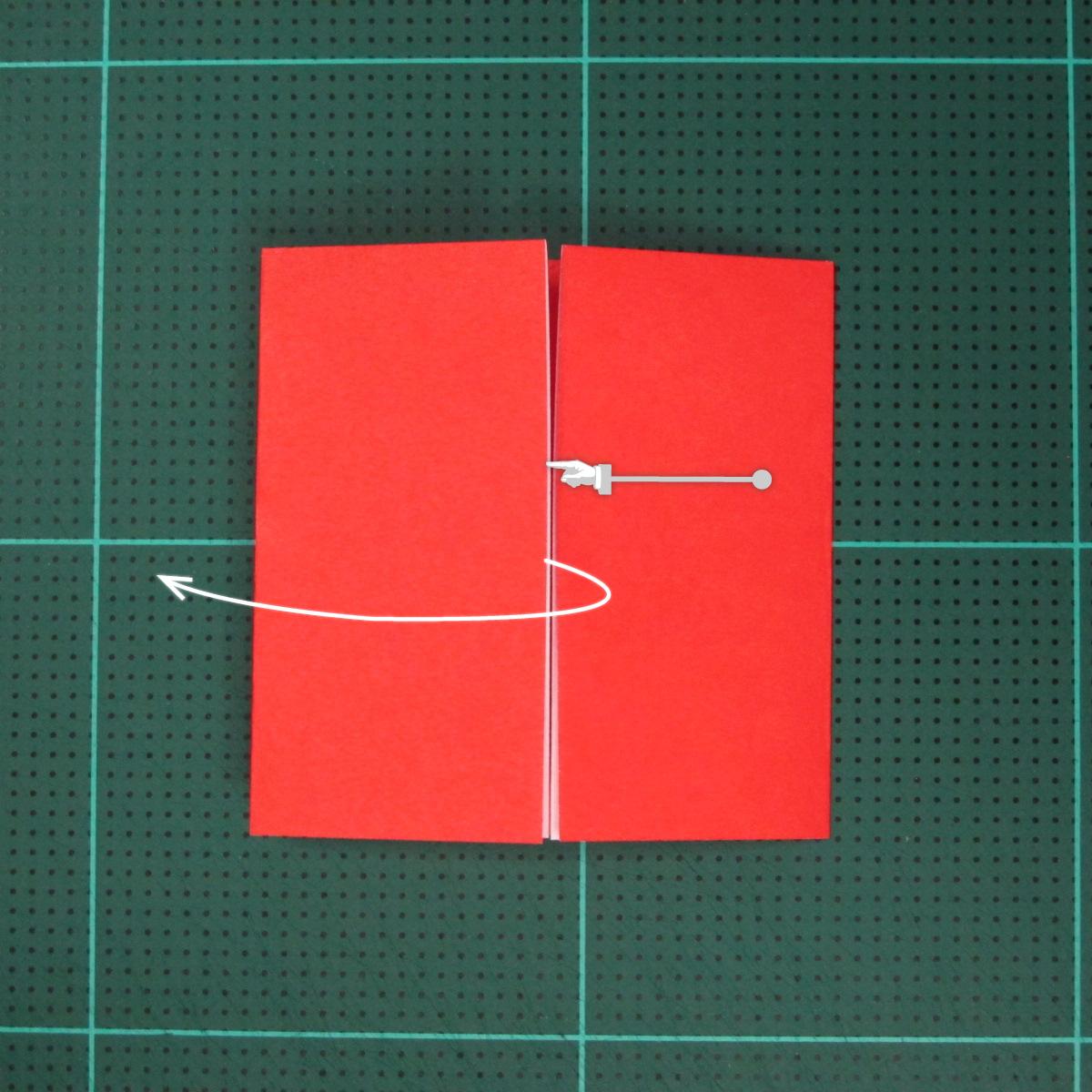 วิธีการพับกระดาษเป็นรูปเปียโน (Origami Piano) 005