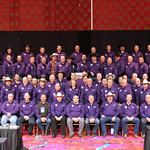 March 2, 2016 - 13:10 - A rare photo of all the Western States Sheriffs were taken during the Western States Sheriff's Association Conference in March. Sheriff Allen was among the hundreds of Western States Sheriff's who proudly wore purple during this year's #WSSA Conference to support the 'Man Up Crusade,' a domestic violence awareness campaign created by Canyon County Idaho Sheriff Kieran Donahue and his wife Jeanie. Domestic Violence makes up more than half of all calls for service received by police and, on average every day in the U.S. three woman and 1 man are murdered by their domestic partner.  