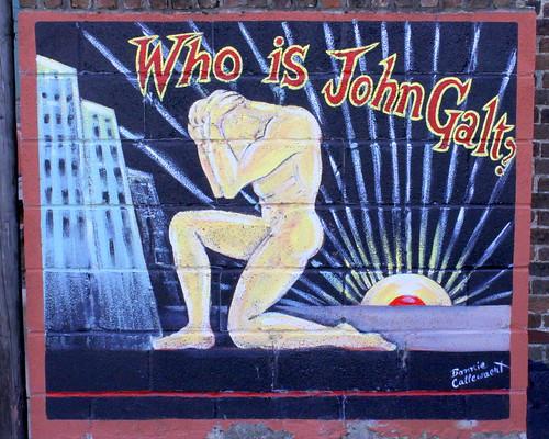 Columbia, TN Mural: Who is John Galt?