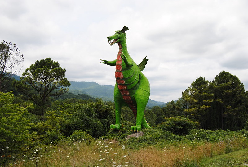 Big Green Dragon, Caryville, Tennessee