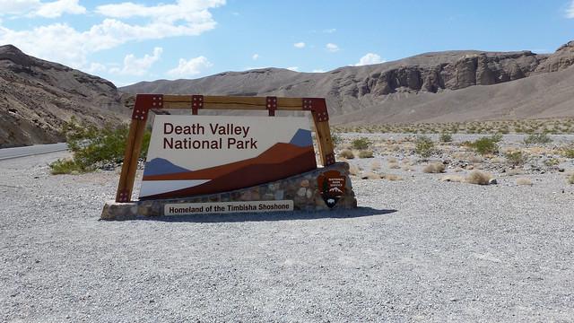 Death Valley National Park Entrance - California