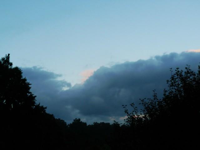 Tôt le matin à Cagnotte, Landes, France.