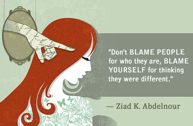 Ziadkabdelnour Quotes_don'tblamepeople | by ziadabdelnour