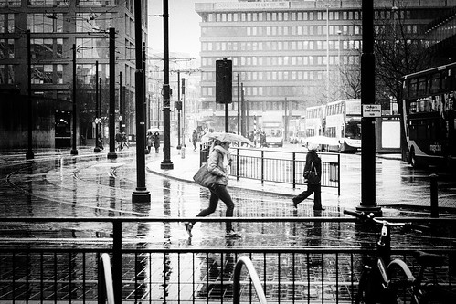 Rainy in Manchester, go figure | by Ian Livesey