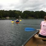 Sarah and Jason in a kayak