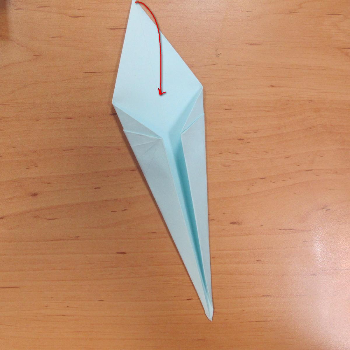 วิธีพับกระดาษเป็นรูปผีน้อย 009